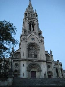 L'Eglise Notre Dame de la Croix de Ménilmontant